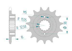 KIT STEEL DUCATI 888 STRADA 1992-1994 Hyper Reinforced Xs-ring
