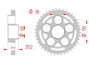 KIT STEEL DUCATI 996 MONSTER S4R 2004-2008 Super Reinforced Xs-ring