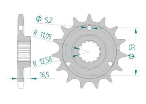 KIT STEEL DUCATI 996 R-RII 2001 Super Reinforced Xs-ring