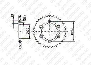 Kit Aprilia 450/550 Rxv