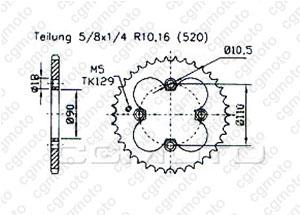 Kit Axr 300 Sp / Adly 300