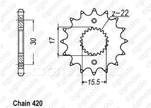 Kit Honda Xr/Cr-f 70 R