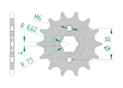 Front sprocket 420 HONDA CR