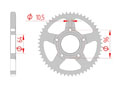 rear steel sprocket 428 honda